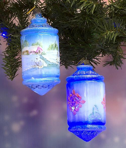 German Christmas Ornaments.German Glass Christmas Ornaments Project By Decoart