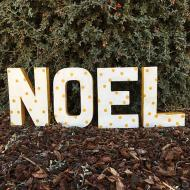 Outdoor Holiday Sign