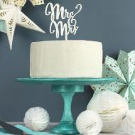Glittery Cake Plate Stand