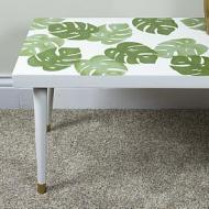 Monstera Leaf Table