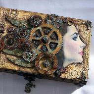 Altered Wooden Box