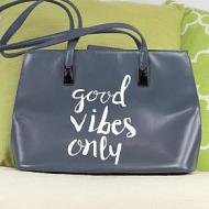 Good Vibes Only Purse