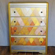 Geometric Metallic Dresser