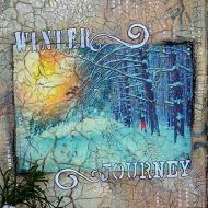 Winter Journey Journal Page