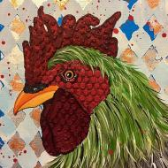 Mixed Media Rooster