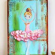 Mixed Media Ballerina