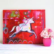 Unicorn Ride Canvas