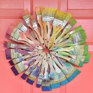 Paint Brush Wreath