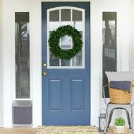Front Porch Mini Makeover