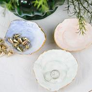 Watercolor Jewelry Dishes