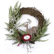 Be A Deer Wreath