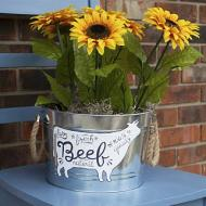 Farmhouse Cow Bucket