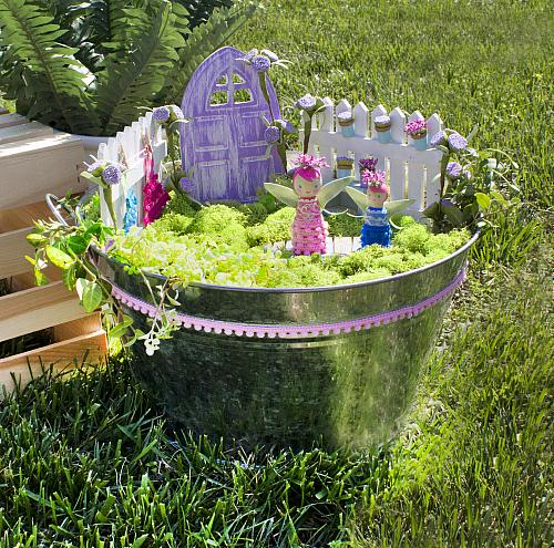 Sweet Little Fairy Garden