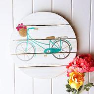 Summer Bicycle Sign