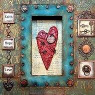 Faith, Hope, and Love Frame