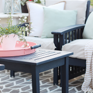 How to Refinish Patio Furniture