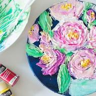 How to Paint Textured Roses