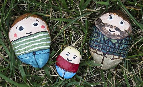 Painted Rock Family Project By Decoart
