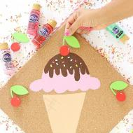 DIY Pin the Cherry on the Ice Cream