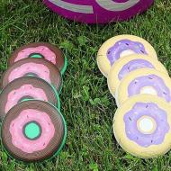 Flying Donut Disc Golf