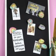 Back to School Rock Magnets