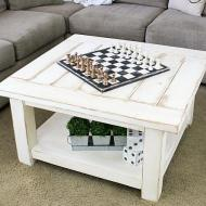 Cozy Coffee Table and Chessboard