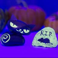 Glow in the Dark Halloween Rocks