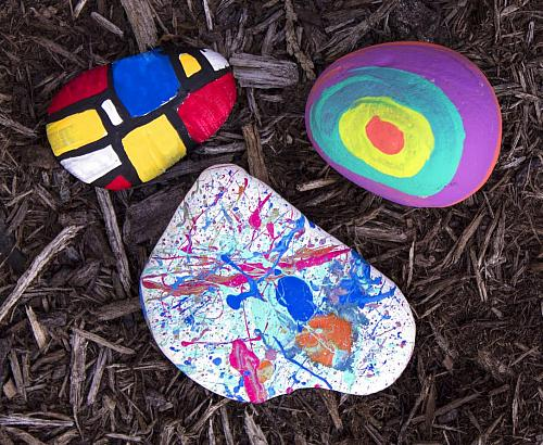 Fine Art Inspired Rocks