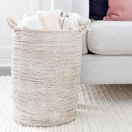 White Washed Basket