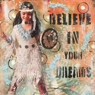 Believe in your Dreams Journal Page