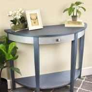 Matte Metallic Side Table