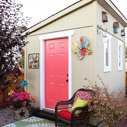 Garden Shed Makeover   Project By DecoArt