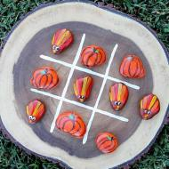 Thanksgiving Rocks Tic-Tac-Toe Game