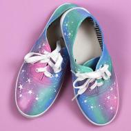 Pastel Galaxy Shoes