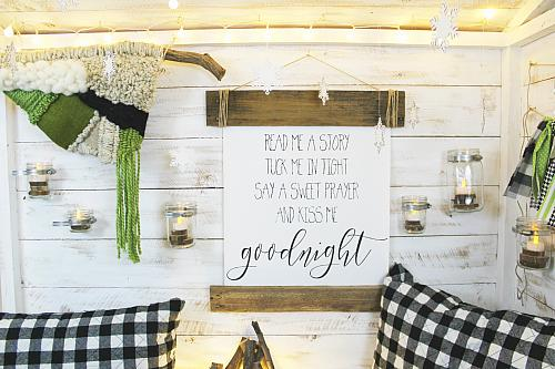 Wooden Pallet Reading Nook Sign Project By Decoart
