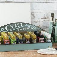 Galvanized Metal Craft Storage