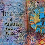 Face Your Fears Journal Page