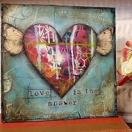 Love is the Answer Canvas