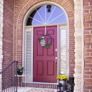 Classic Red Door Makeover