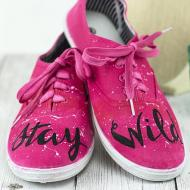 Stay Wild Sneakers