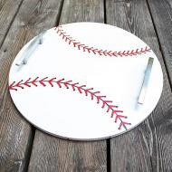 Baseball Serving Tray