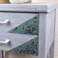Mermaid-Inspired Textured Table