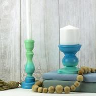 Ombre Candlesticks