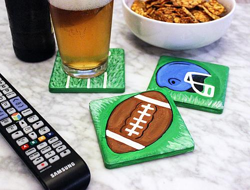 Football Season Coaster Set