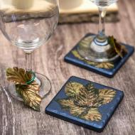Thanksgiving Coasters and Wine Tags