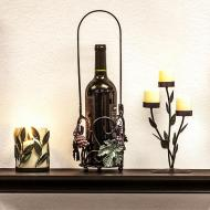 Candle Votives and Wine Holder