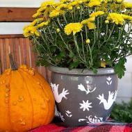 Otomi Textured Fall Planter