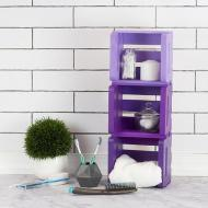 Stacked Ombre Shelves