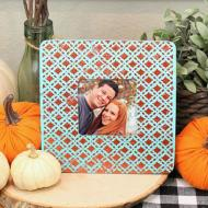 Textured Fall Picture Frame