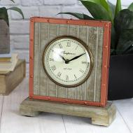 Freestanding Copper Clock